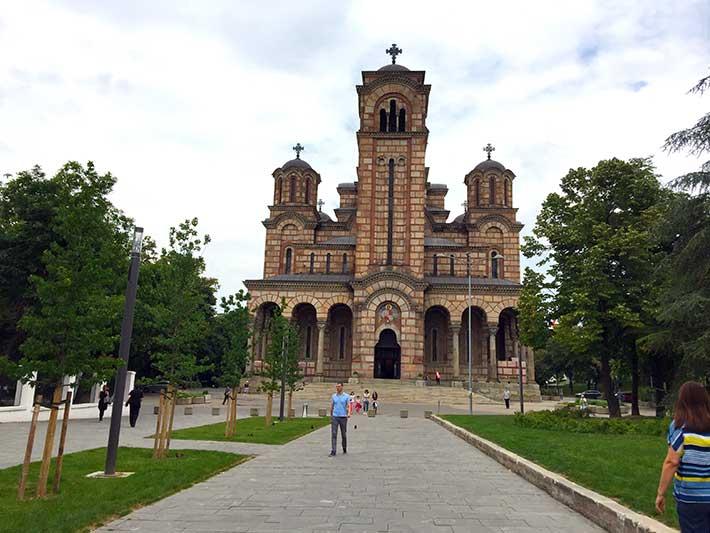 Aziz Marko Kilisesi Belgrad