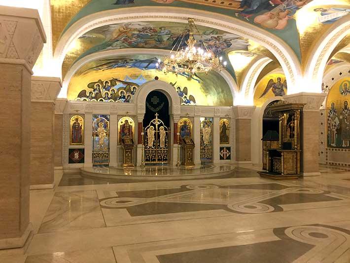 Aziz Sava Kilisesi Mozaikler