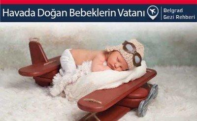 Uçakta doğan bebek