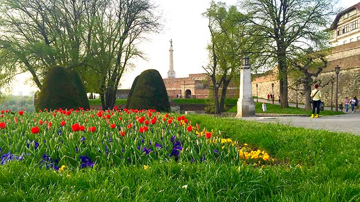 Kalemegdan Parkı Belgrad