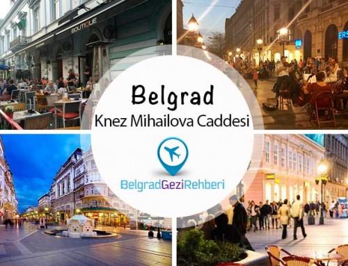 Knez Mihailova Caddesi – Belgrad, Sırbistan