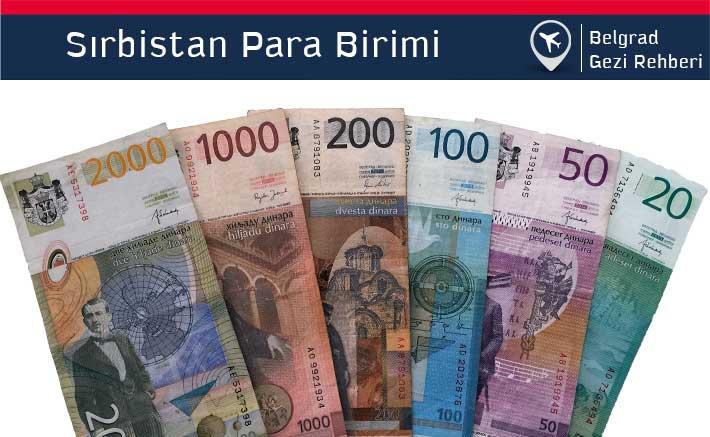 Sırbistan, Belgrad Para Birimi