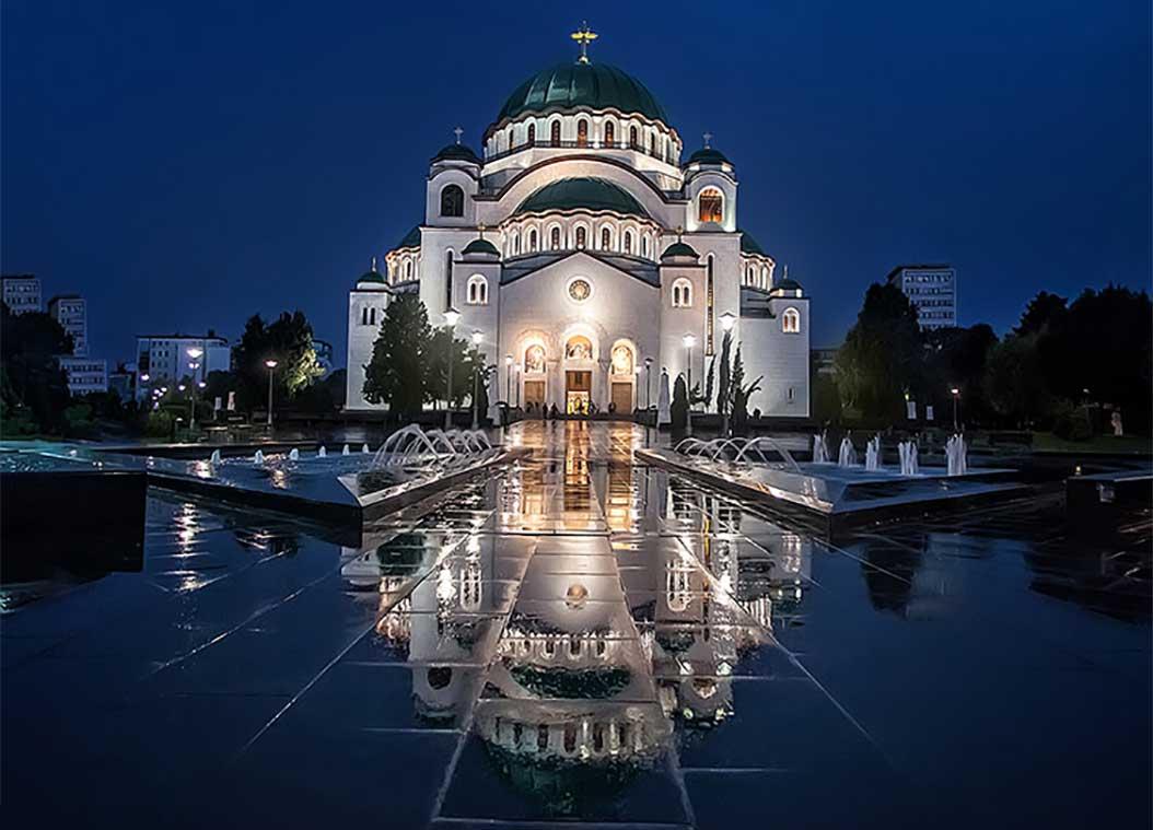 Aziz Sava (Sveti Sava) Katedrali - Kilisesi Belgrad