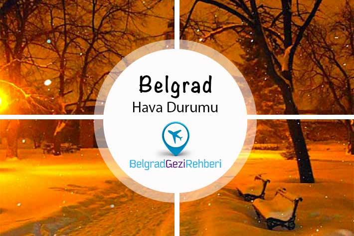 Belgrad için hava durumu 2016